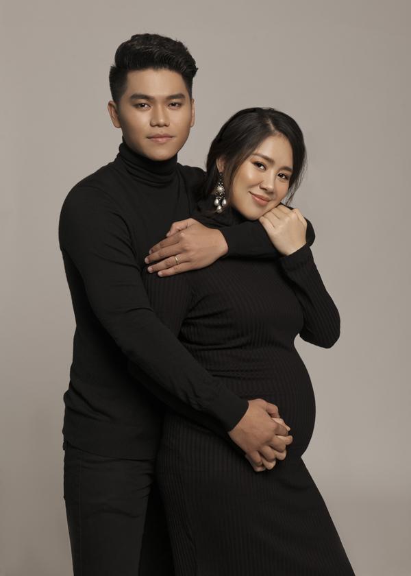 Lê Phương mang thai với chồng trẻ Trung Kiên.