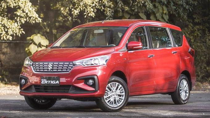 Suzuki Ertiga 2019 sắp về Việt Nam giá thấp hơn đời trước