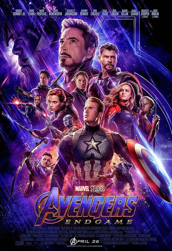 Avengers: Endgame được khởi chiếu từ 26/4. Ảnh: Marvel.