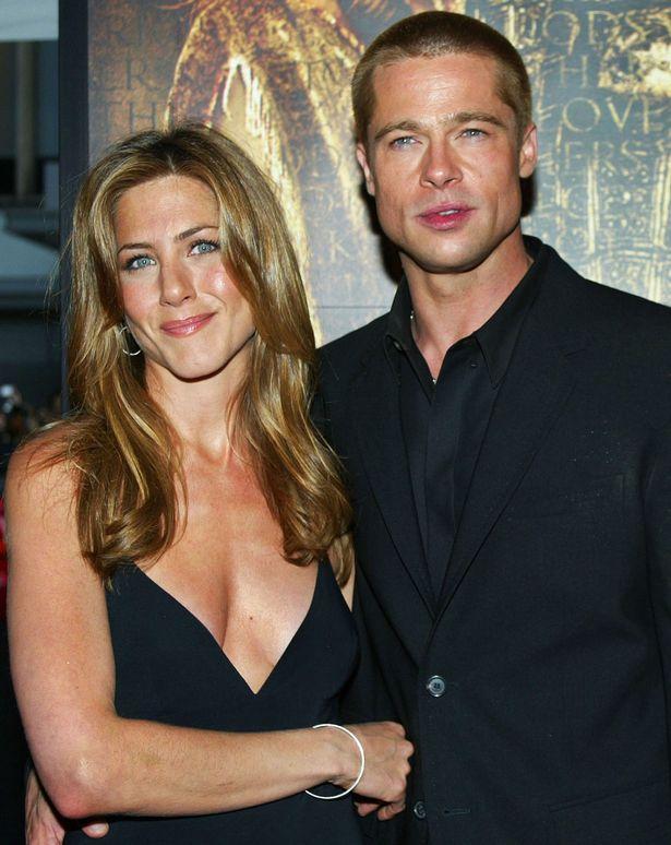 Jennifer Aniston và Brad Pitt ngày còn chung sống.