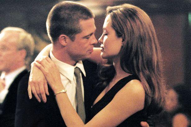 Brad Pitt đã phải lòng Angelina Jolie sau khi đóng phi Mr&Mrs Smith năm 2004.