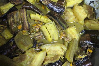 Lươn om chuối đậu dân dã - 3