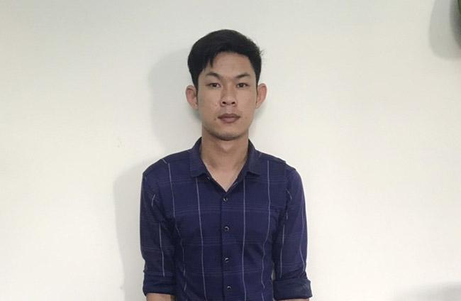 Nguyễn Văn Lực bị tạm giữ để điều tra hành vi cướp tài sản. Ảnh: Đại Hiệp.