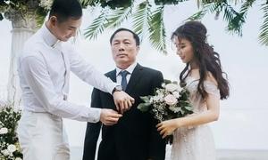 Con gái 'bầu' Đệ lên xe hoa với Nam vương Nguyễn Văn Sơn