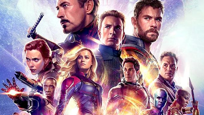 Avengers: Endgame phá kỷ lục phòng vé tại Mỹ, Trung Quốc và nhiều nước khác. Ảnh:Marvel Studios.