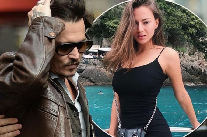 Johnny Depp bí mật hẹn hò vũ công Nga hơn một năm nay và đang muốn kết hôn với cô.