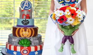 Ý tưởng cưới 'bắt trend' cho fan cuồng phim Avengers