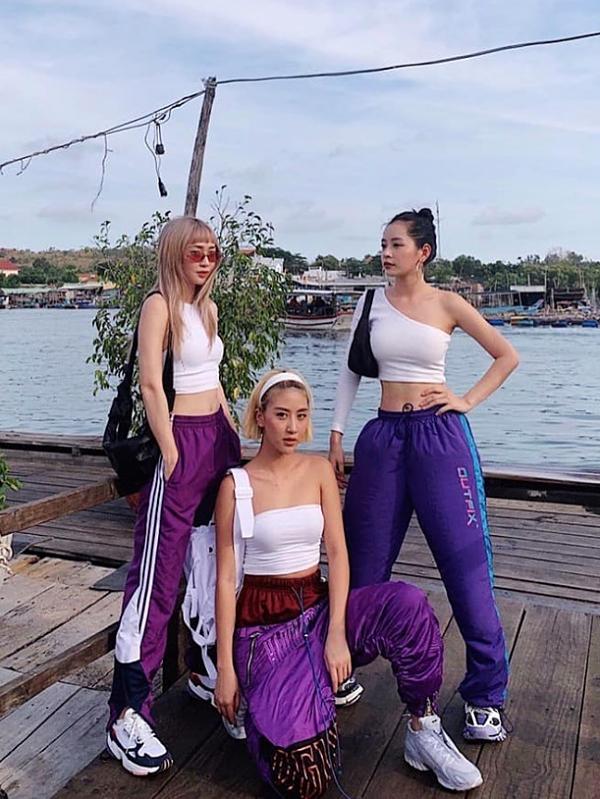 Ba người đẹp SunHT - Quỳnh Anh Shyn - Chi Pu diện đồ giống nhau