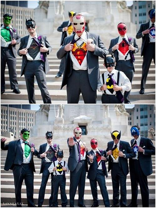 Ý tưởng cưới sáng tạo cho fan cuồng phim Avengers - 7