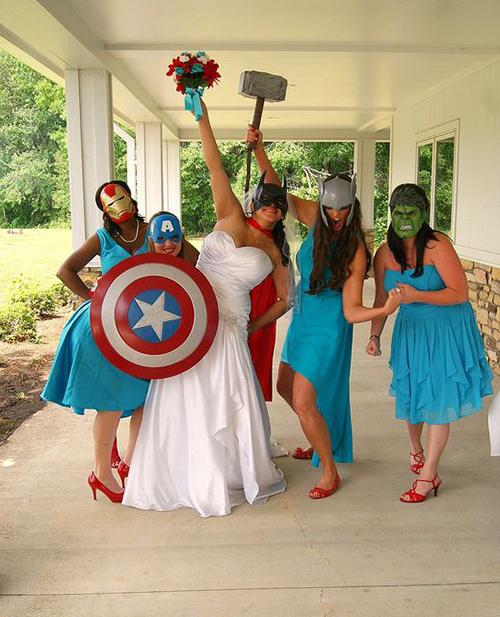 Ý tưởng cưới sáng tạo cho fan cuồng phim Avengers - 6