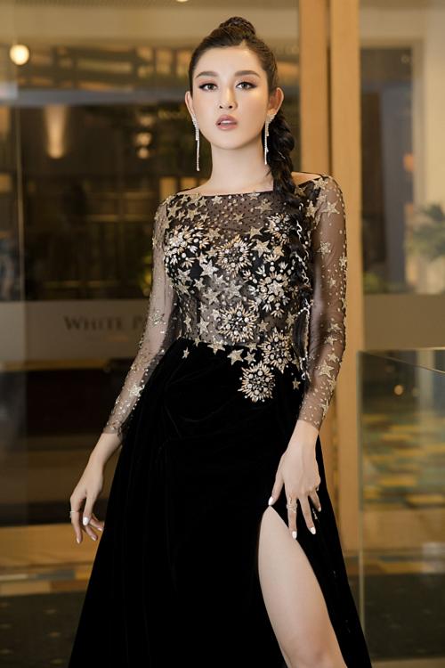 Kỳ Duyên, Huyền My diện váy xẻ đùi dự sự kiện của mỹ phẩm Hamyang ginseng - 4