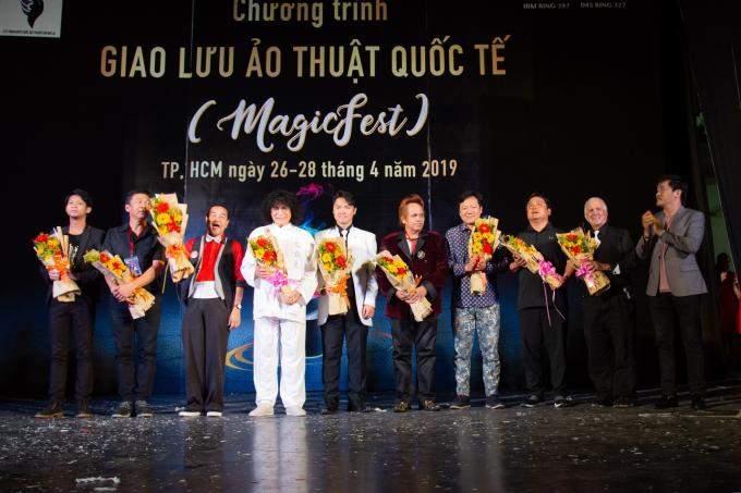 Ảo thuật gia quốc tế và Việt Nam biểu diễn tại TP HCM