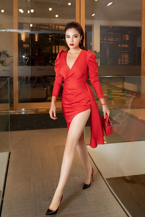 Kỳ Duyên, Huyền My diện váy xẻ đùi dự sự kiện của mỹ phẩm Hamyang ginseng - 5