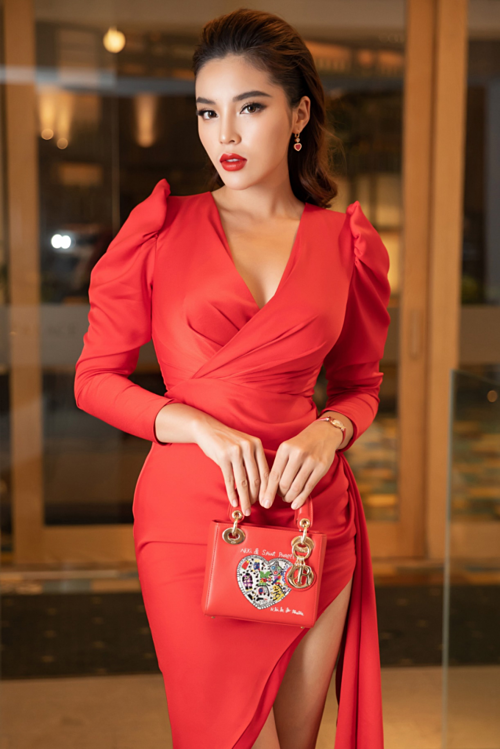 Kỳ Duyên, Huyền My diện váy xẻ đùi dự sự kiện của mỹ phẩm Hamyang ginseng - 6