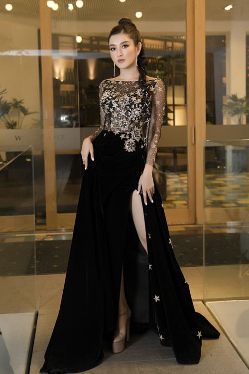 Kỳ Duyên, Huyền My diện váy xẻ đùi dự sự kiện của mỹ phẩm Hamyang ginseng - 2