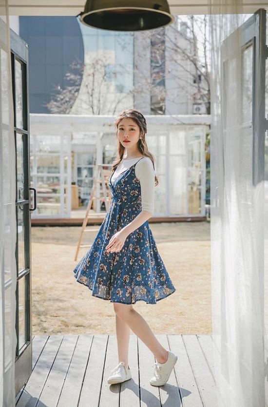 Đến văn phòng ngày cuối tuần với váy hoa hợp mốt - 4