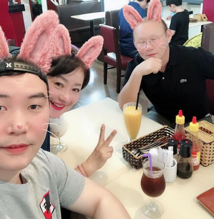 Hình ảnh được Park Chan-sung chia sẻ trên trang cá nhân.