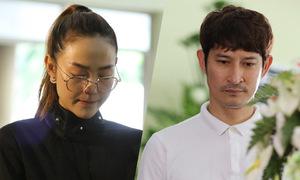 Minh Hằng, Huy Khánh đau xót nhìn mặt Lê Bình lần cuối