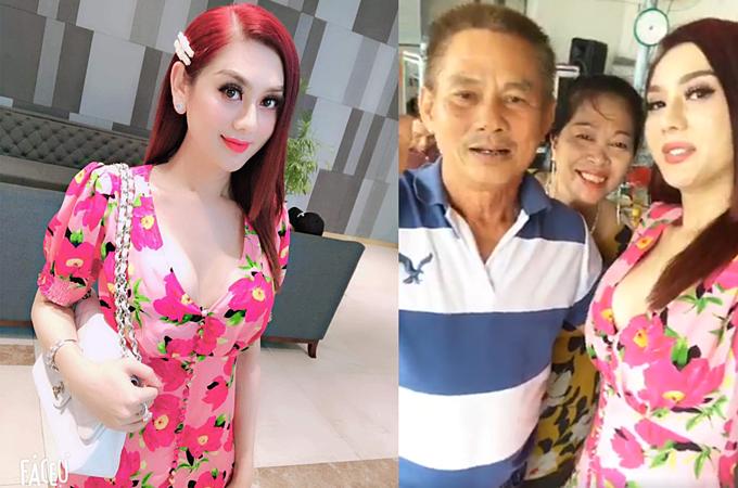 Lâm Khánh Chi cho biết, bố mẹ chồng rất thương mến cô.
