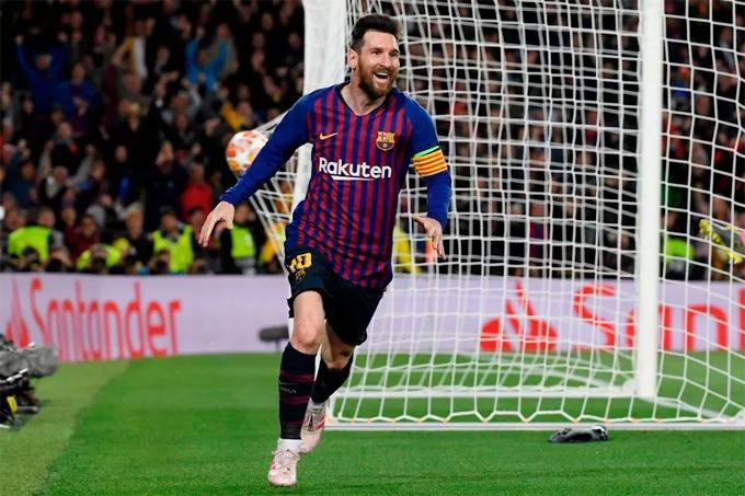 Tiền đạo Argentina có một trận đấu thăng hoa khi lập cú đúp, giúp Barca giành lợi thế lớn trước trận bán kết lượt về trên sân khách Anfield.