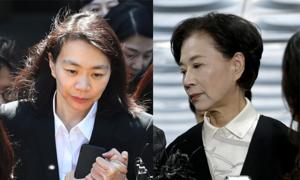 Chủ tịch Korean Air mất chưa lâu, con gái và vợ góa hầu tòa