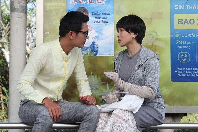 Diệu Nhi và Quang Tuấn trong Gia đình là số 1 bản Việt.