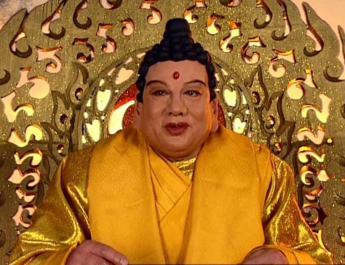 Chu Long Quảng vào vai Như Lai Phật Tổ trong phim Tây du ký.