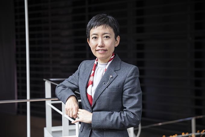 Saiko Nanri - giám đốc ngân hàng của tập đoàn tài chính MUFG. Ảnh: Bloomberg.