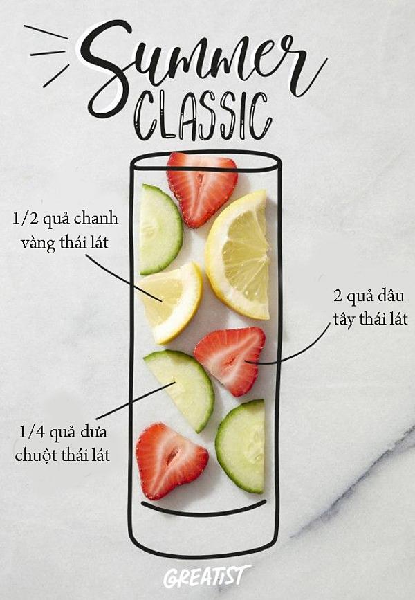 Thức uống này có tác dụng tăng cường hệ miễn dịch, chứa chất chống viêm và hỗ trợ hệ tiêu hóa hoạt động hiệu quả. Ngoài ra, nó còn giúp tăng cườngnăng lượng, thanh lọc toàn bộ cơ thể và làm bạn cảm thấy thoải mái hơn.