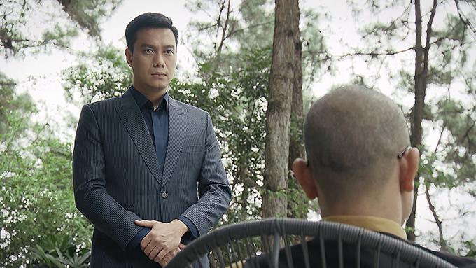 Việt Anh cũng là cái tên đình đám trong dự án này. Anh vào vai Đông Hòa - một luật sư tham vọng, khôn ngoan và có nhiều thủ đoạn. Tham vọng mù quáng cũng là lý do khiến Đông Hòa đi nhầm đường. Đông Hòa này cũng chính là anh trai cùng cha khác mẹ với Lam Anh (Hoàng Thùy Linh) - bạn gái của Khánh trong phim.
