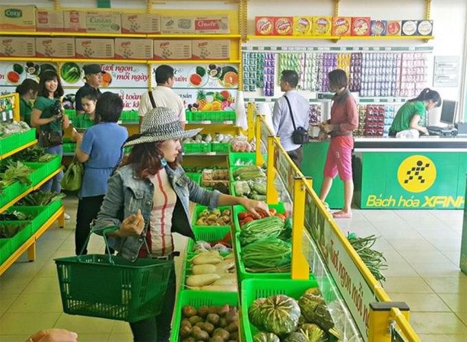 Bách hóa Xanh vượt mốc 500 siêu thị - 1