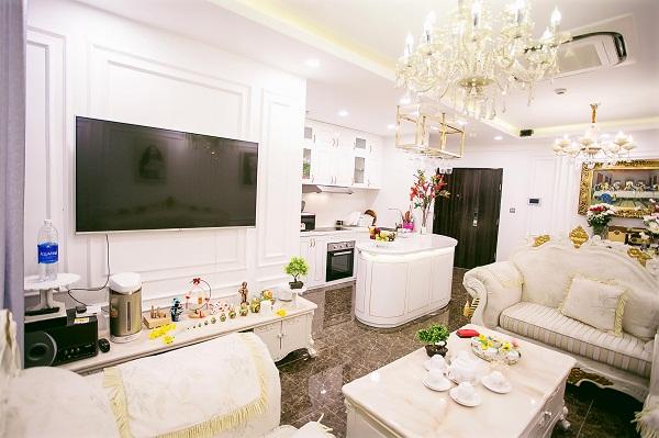 Hoa hậu cho biết không ngại bỏ số tiền lớn ra mua căn hộ này để có chỗ sinh sống tiện nghi, thoải mái nhất.
