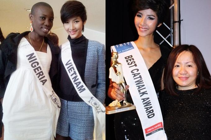 Hoàng Thùy từ nữ sinh quê mùa thành Á hậu dự thi Miss Universe - 2
