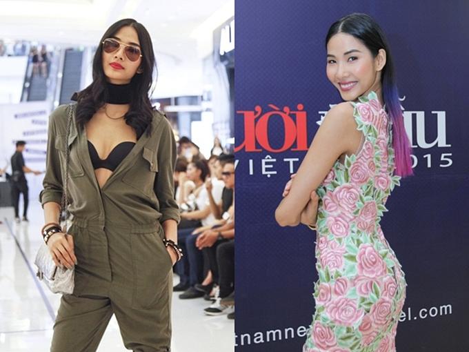 Hoàng Thùy từ nữ sinh quê mùa thành Á hậu dự thi Miss Universe - 4