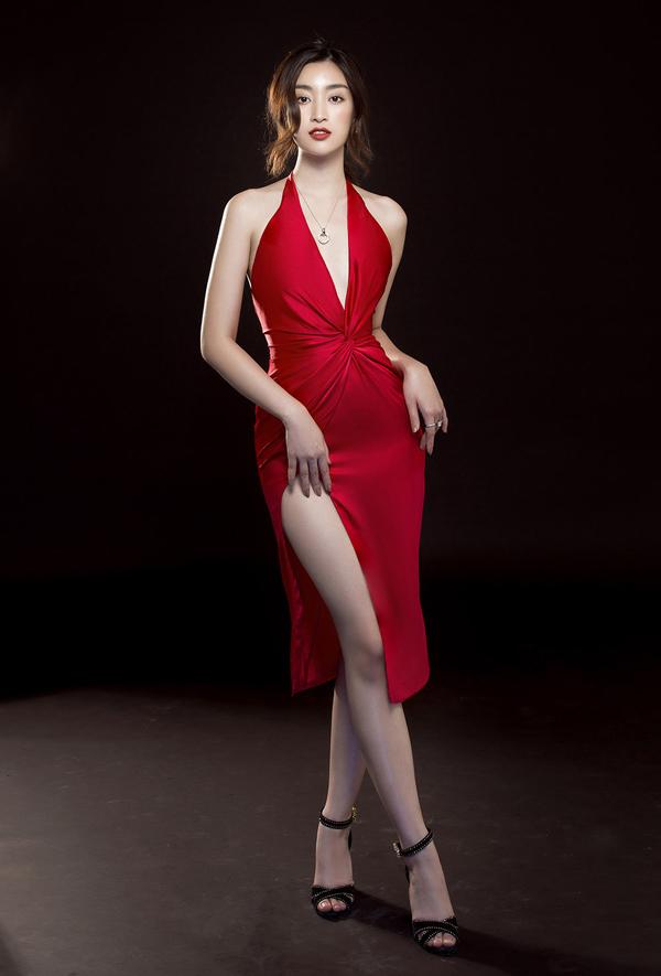 Đỗ Mỹ Linh gợi ý mặc đẹp cùng mốt váy cut-out