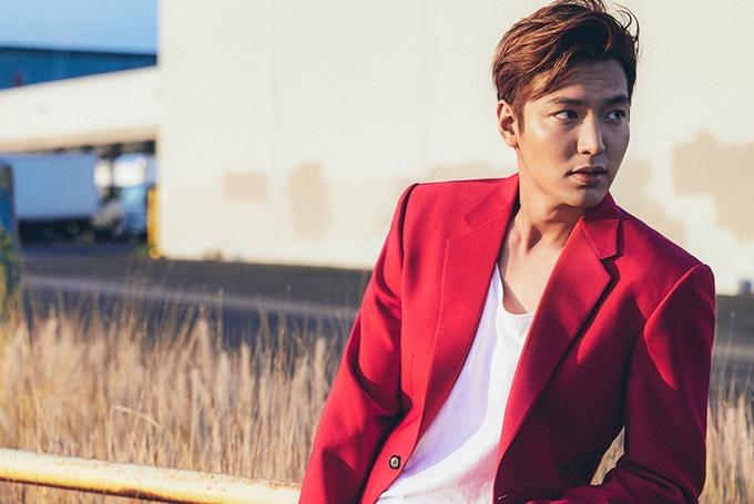 Ngôi sao Hàn Quốc Lee Min Ho.