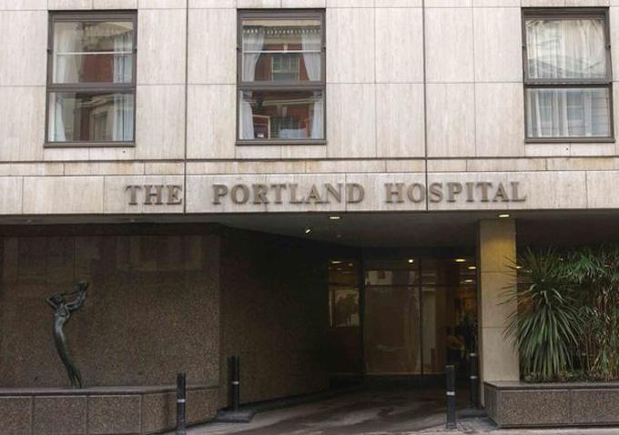 Bệnh viện Portland ở London, nơi Meghan có thể đã chọn để sinh con đầu lòng. Ảnh: UK Press.
