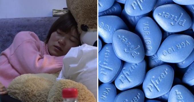 Liu Hongyan đã sống lâu hơn 6 năm so với tiên lượng của bác sĩ nhờ uống thuốc Viagra 3 lần một ngày trong vòng 10 năm qua. Ảnh: China Press.