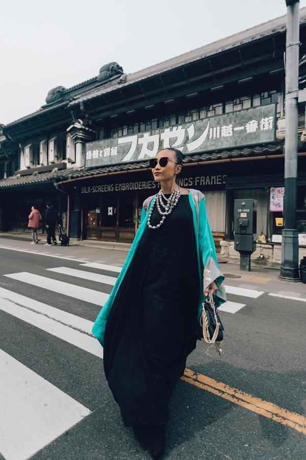 Trong chuyến đi đến Nhật Bản lần này, Đoan Trang