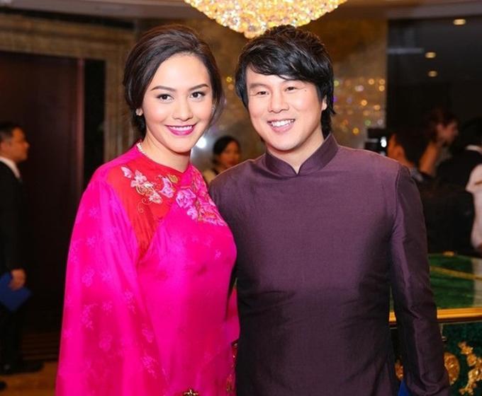 Vợ chồng Thanh Bùi - Huệ Vân.