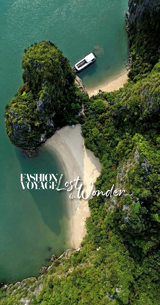 Đảo Trái tim, Hạ Long - nơi mang vẻ đẹp nguyên sơ, thơ mộng sẽ là địa điểm tổ chức Fashion Voyage mùa hai.