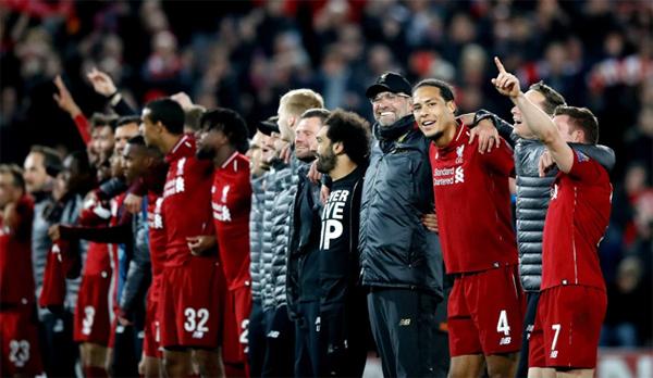 Bước vào trận lượt về, Liverpool chỉ có duy nhất lợi thế sân nhà, bất lợi khi để thua 0-3 ở lượt đi đồng thời vắng cặp song sát Salah và Firmino. Tuy nhiên các cầu thủ áo đỏ thi đấu bùng nổ mang về chiến thắng ngoạn mục.