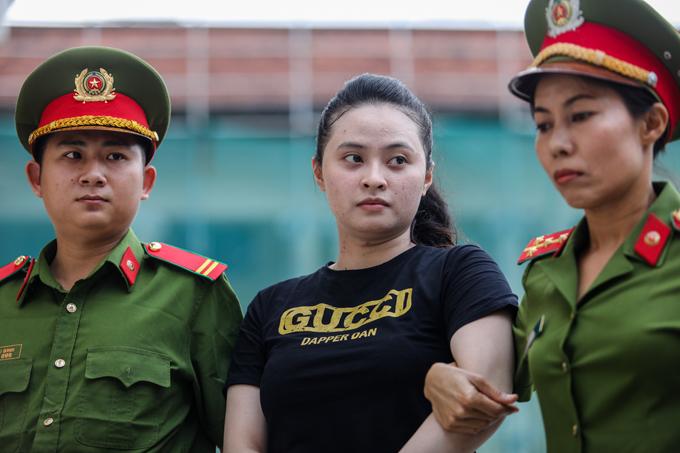 Ngọc Miu trong ngày thứ hai của phiên xét xử. Ảnh: Thành Nguyễn.