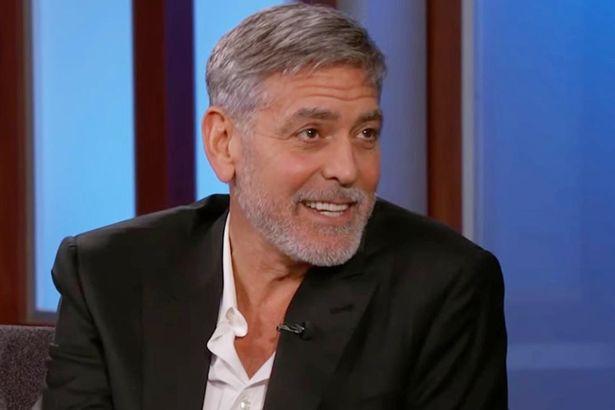 Clooney trong buổi phỏng vấn hôm 7/5, tiết lộ sẽ không nhận vai trò cha đỡ đàu của bé Archie.