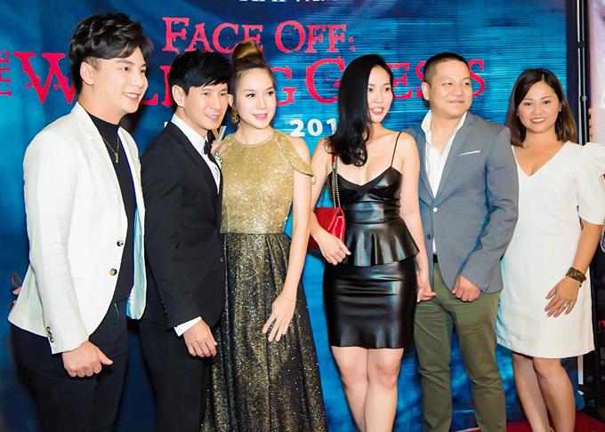 Lý Hải - Minh Hà vui khi hội ngộ bạn bè nghệ sĩ tại hải ngoại. Bộ phim mang đề tài ma - hài của đôi vợ chồng được kiều bào ở Mỹđón nhận nồng nhiệt.
