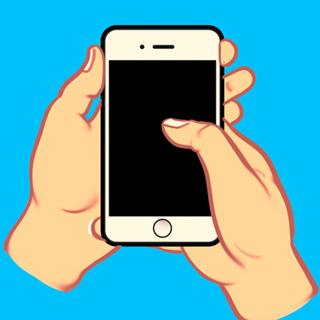 Cách cầm điện thoại hé lộ tính cách của bạn - 1