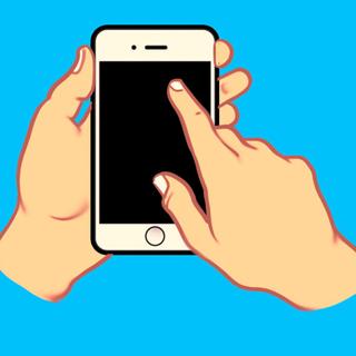 Cách cầm điện thoại hé lộ tính cách của bạn - 2