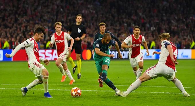 Lucas Moura ghi bàn thứ ba cho riêng anh ở phút 90+6 khép lại trận thắng 3-2 cho Tottenham ở lượt về. Kết quả này vừa đủ để giúp đội bóng Anh đi tiếp sau hai lượt trận hoà 3-3 nhưng lợi thế ghi bàn sân khách là chỉ số quyết định.