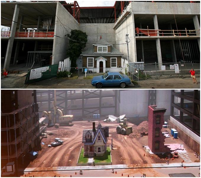 Câu chuyện nhân văn quanh phiên bản đời thực của ngôi nhà trong phim Vút bay - 1