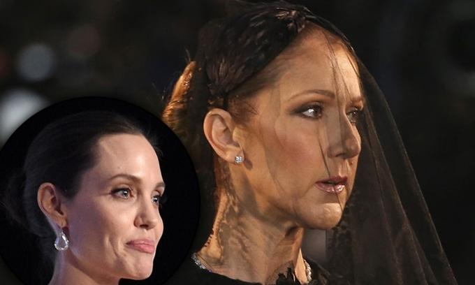 Celine Dion (phải) buồn khi bạn thân từ chối thể hiện mình trên phim.